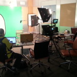 Green screen location video production