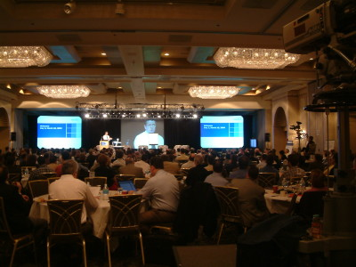 Photo of covering a medical conference using multiple cameras and iMag