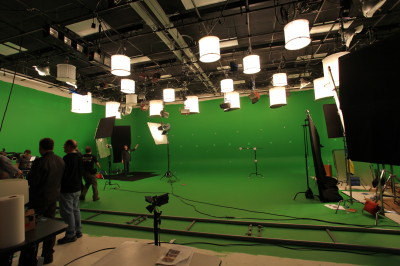 WGBH-Boston for Nova on green screen