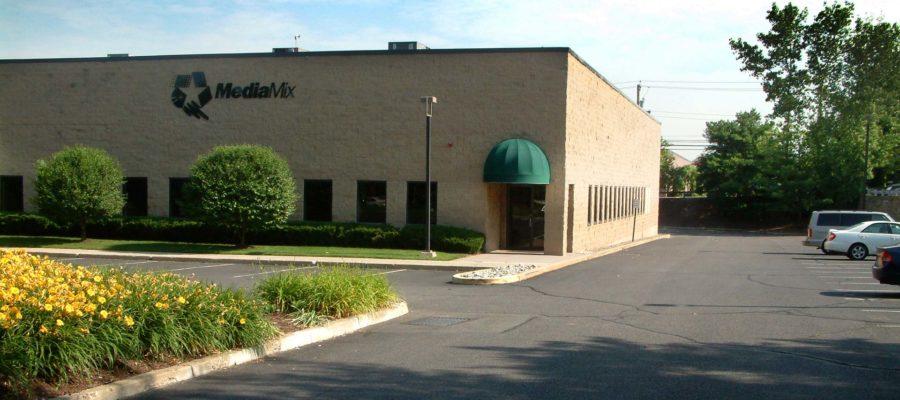 Main entrance outside MediaMix