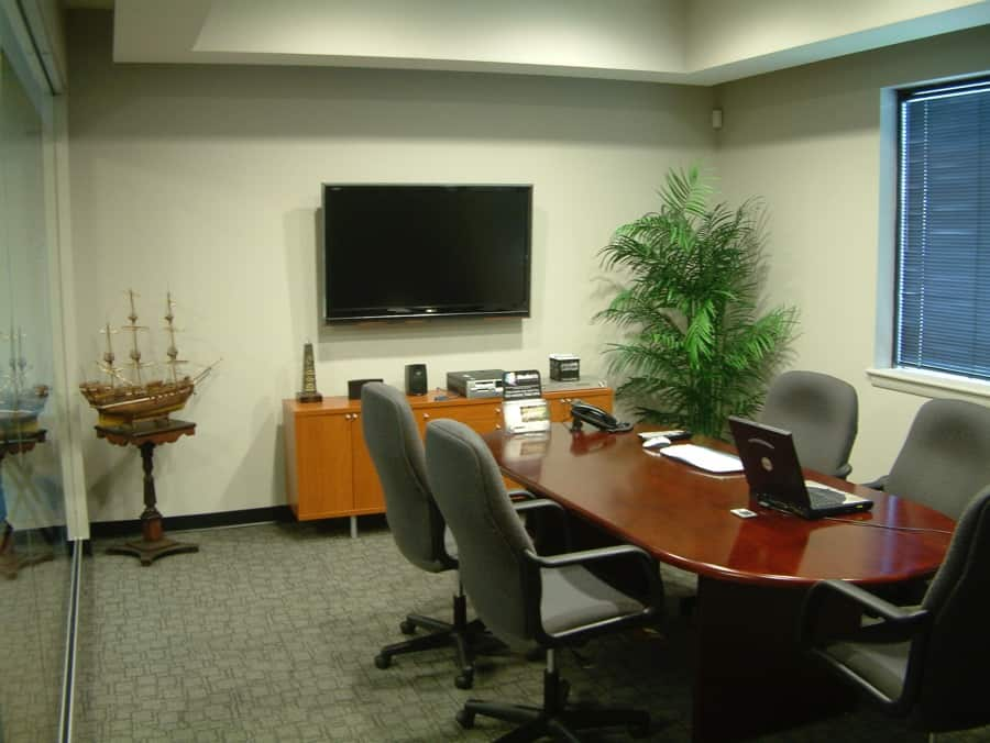 Photo of our conference room at MediaMix