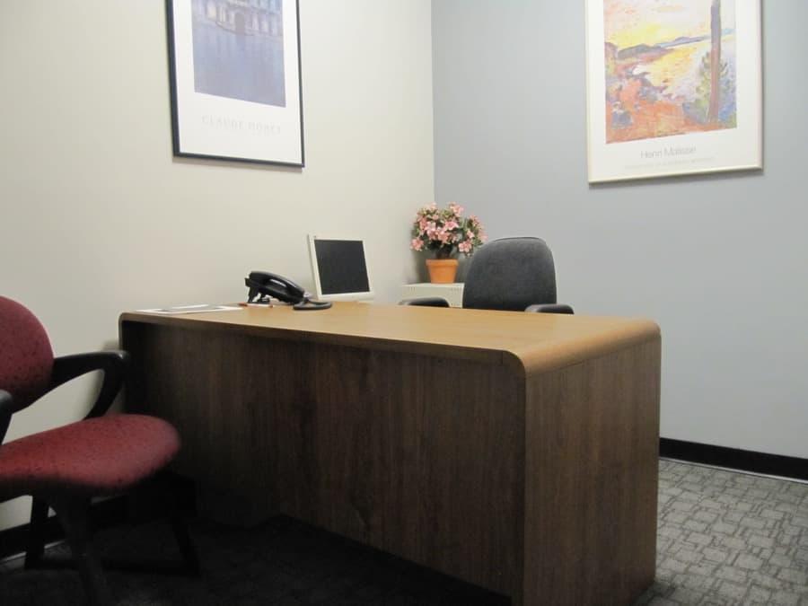 Private client office at MediaMix Studios