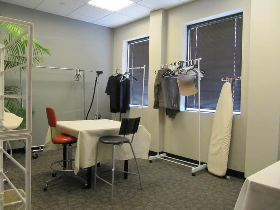 Wardrobe room at MediaMix Studios