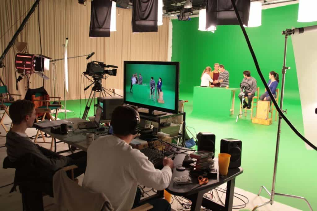 Green Screen in Studio A
