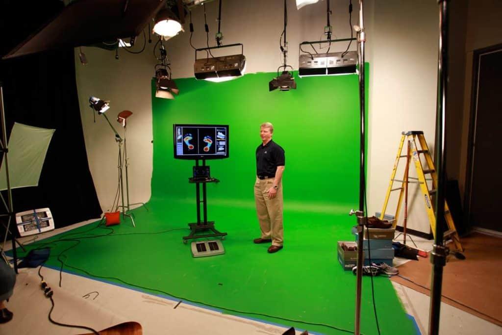 Green Screen in Studio B