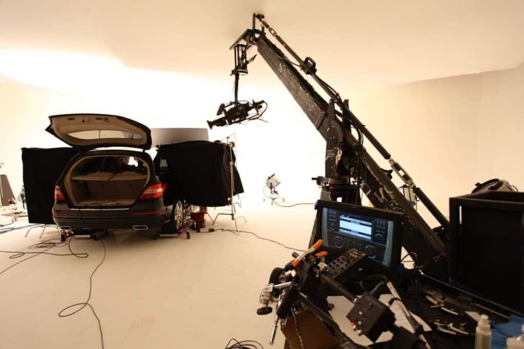 Automotive Shoot in Studio A