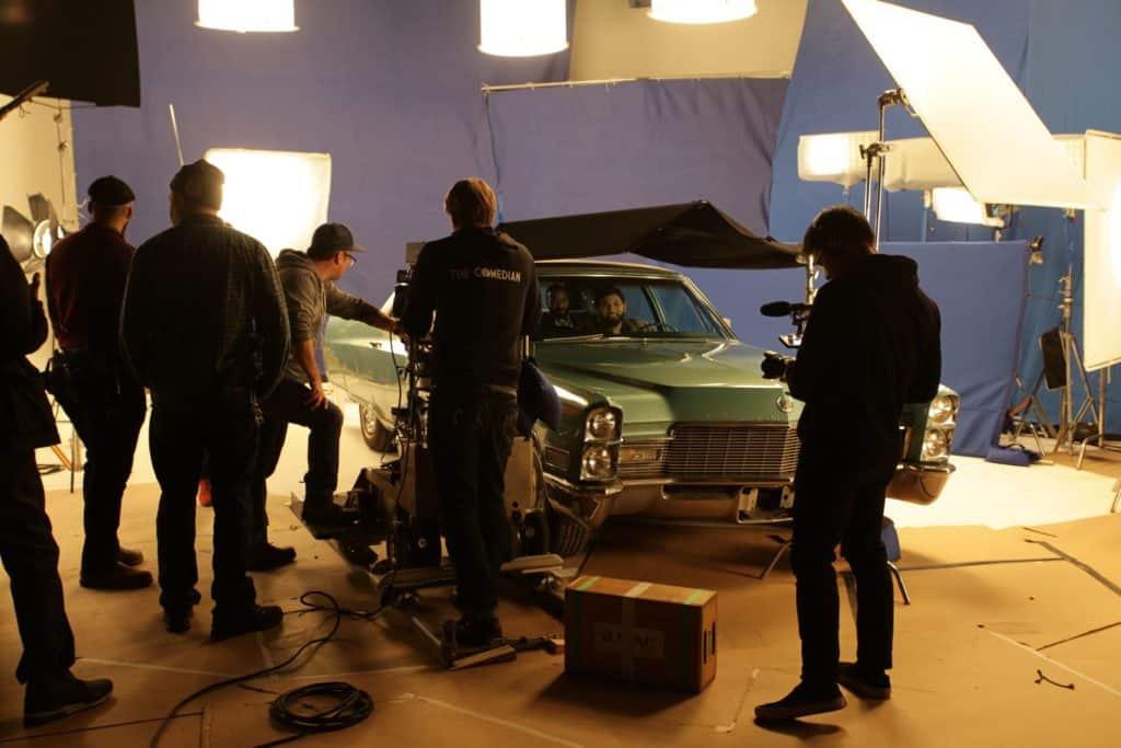 Desus and Mero Shoot in Studio A