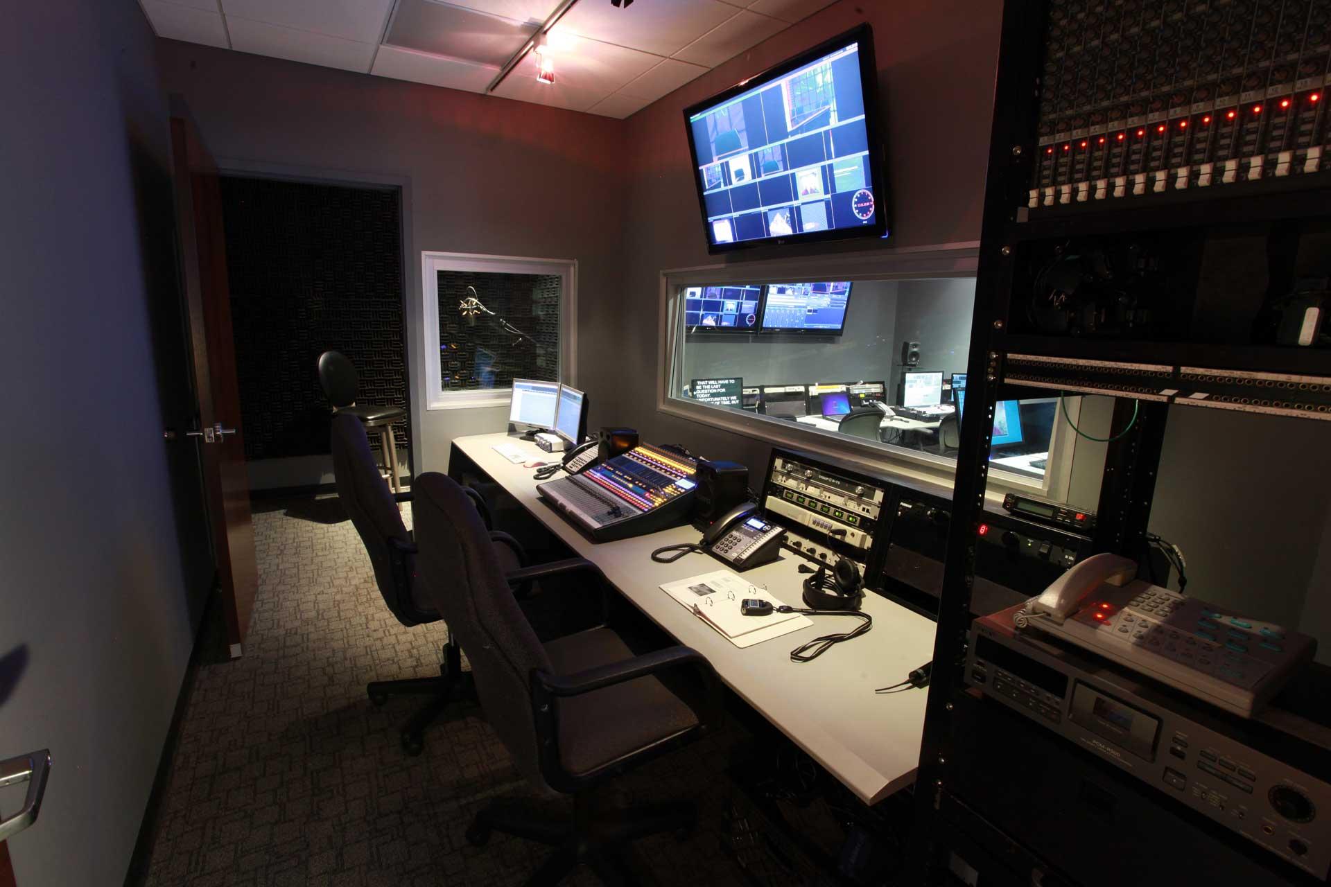 Photo of MediaMix Studios Audio Control Room