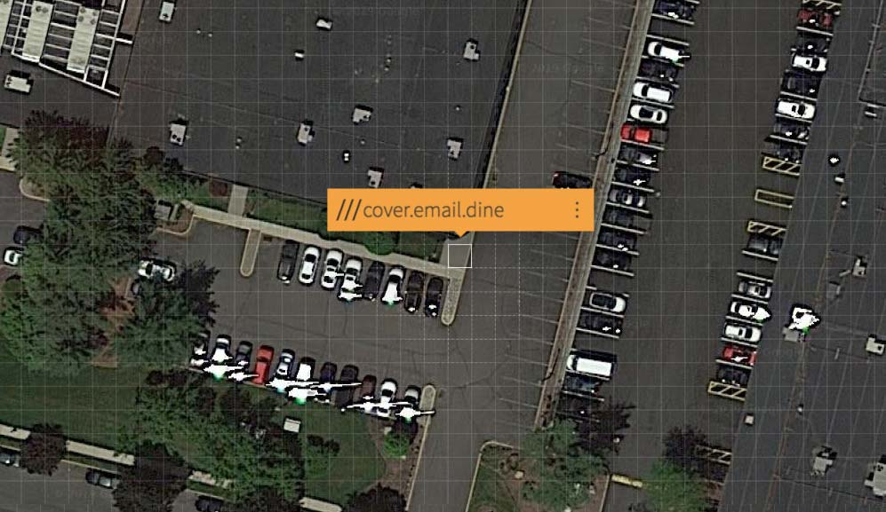 What3Words screen grab for MediaMix Studios location