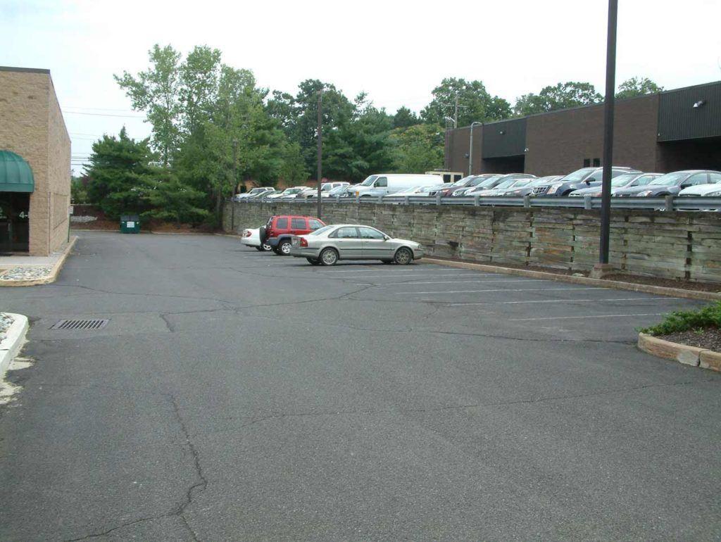 Parking lot at MediaMix Studios in Allendale, NJ